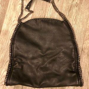3b30571792 Steve Madden Bags - Steve Madden Totally Chain Tote
